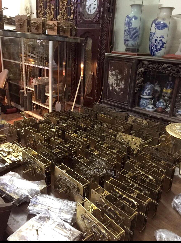 Bộ máy đồng hồ cổ quý hiếm nhập khẩu Đức