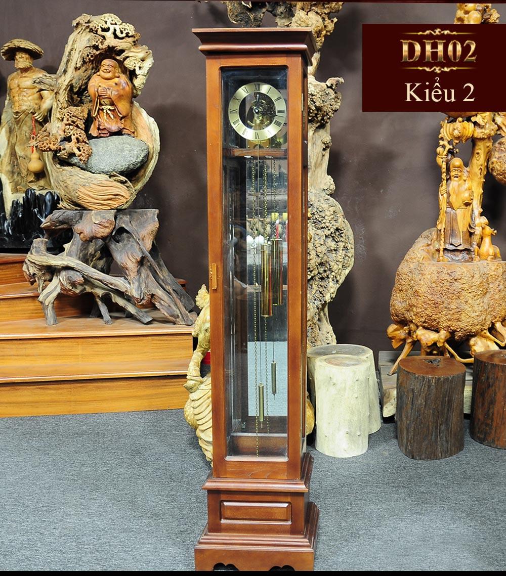 Đồng hồ cây DH02 phong cách châu âu hiện đại trang nhã