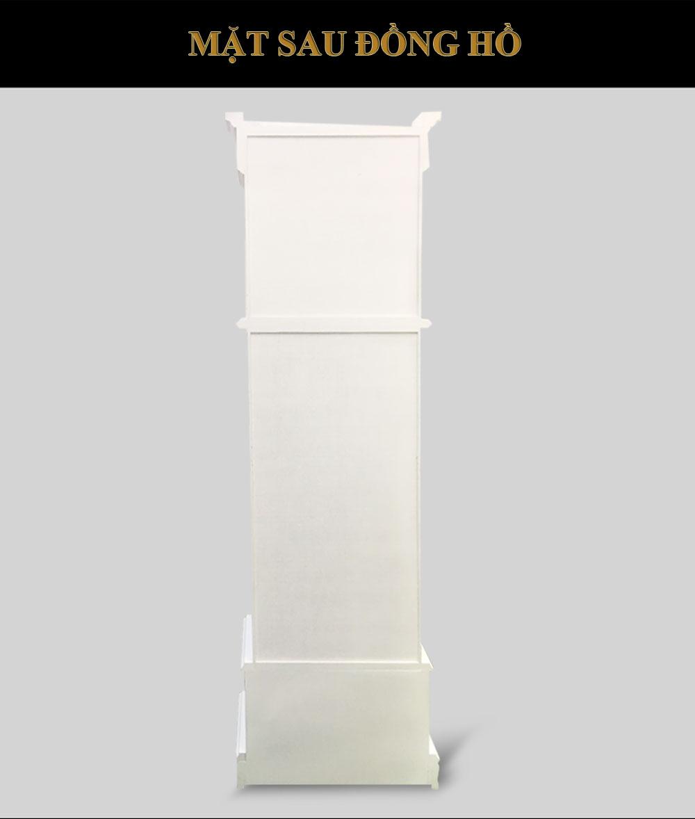 Đồng hồ cây DH14 tân cổ điển màu trắng trang nhã