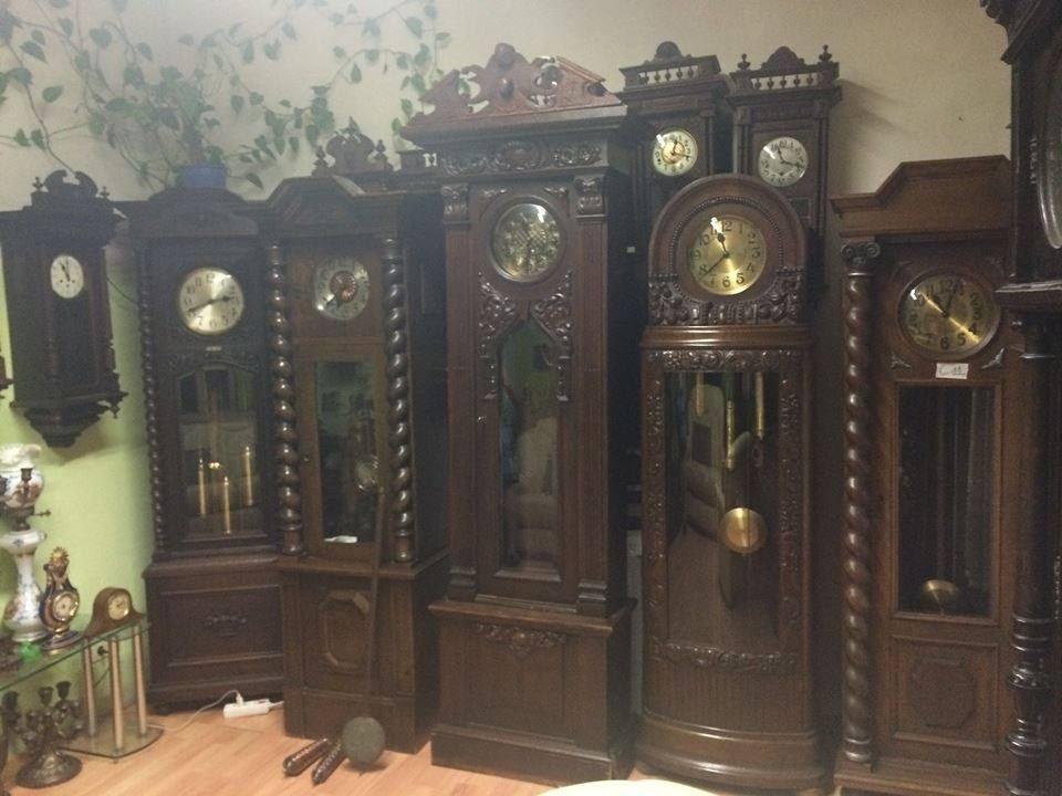 Một số mẫu đồng hồ cây cổ của pháp