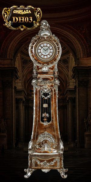 Đồng hồ cây giả cổ phong cách hoàng gia cổ điển sang trọng