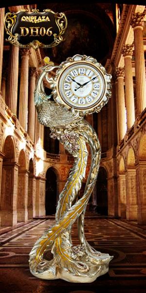 Đồng hồ cây tân cổ điển kiểu dáng chim phượng hoàng