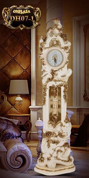 Đồng hồ cây tân cổ điển châu âu hiện đại trang nhã