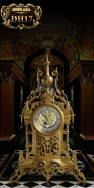Đồng hồ cây để bàn phong cách châu âu sang trọng