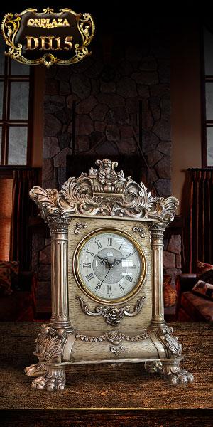 Đồng hồ để bàn châu âu phong cách cổ điển sang trọng