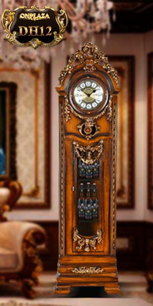 Đồng hồ cây cổ điển châu âu sang trọng