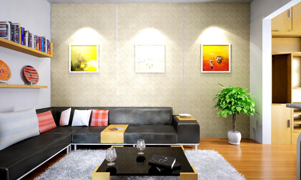 xu hướng nội thất đơn giản tối giản không gian