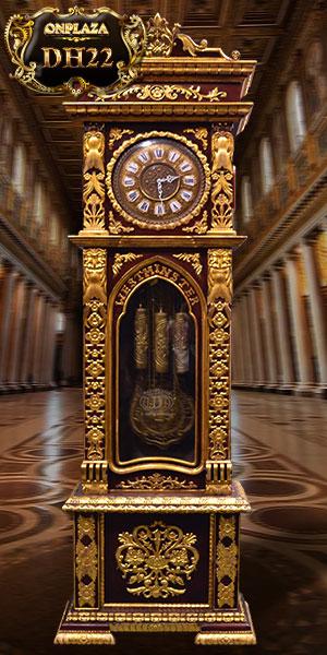 Đồng hồ cây nhập khẩu quả tạ đứng của đức kiểu hổ phù,