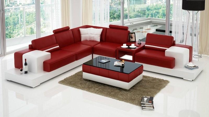 Cách trang trí phòng khách hiện đại đẹp với bộ sofa
