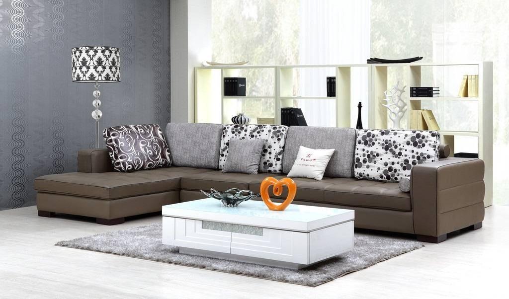 Cách trang trí phòng khách đẹp đơn giản với tông màu trầm