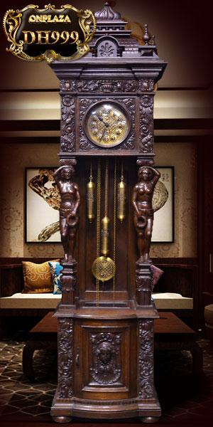 Đồng hồ cổ châu âu nhập khẩu nguyên chiếc tại đức là mẫu đồng hồ cây cổ đẹp được nhiều người thích