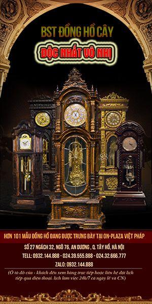 Bộ sưu tập đồng hồ cây cổ độc đẹp được nhiều người yêu thích