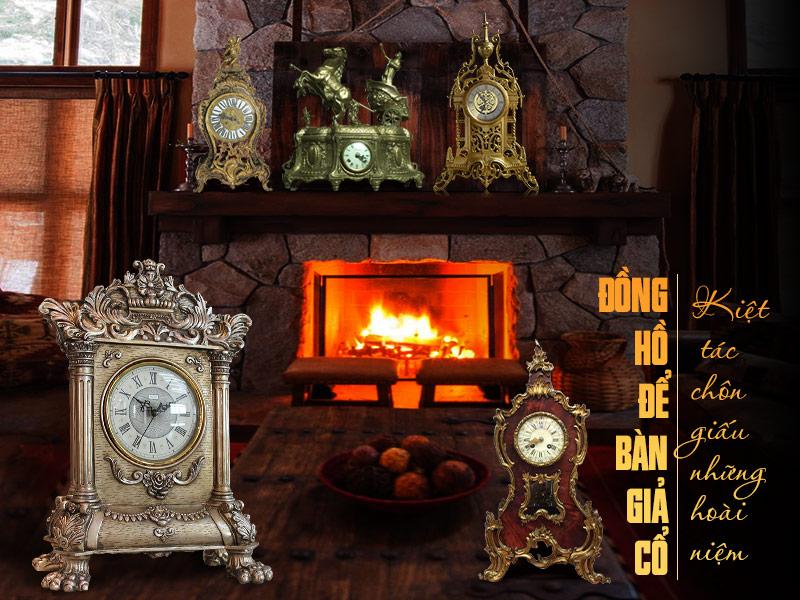 Thiết kế của đồng hồ giả cổ châu âu mang đậm nét quý tộc, sang trọng, đẳng cấp