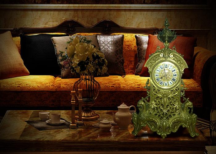 Những mẫu đồng hồ để bàn cổ châu âu độc đáo đẹp sang trọng