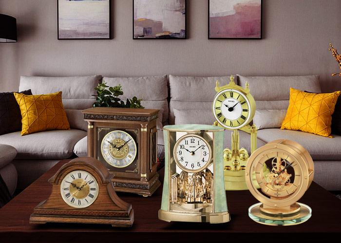 Top những mẫu đồng hồ để bàn độc đáo phong cách châu âu đẹp mê mẩn