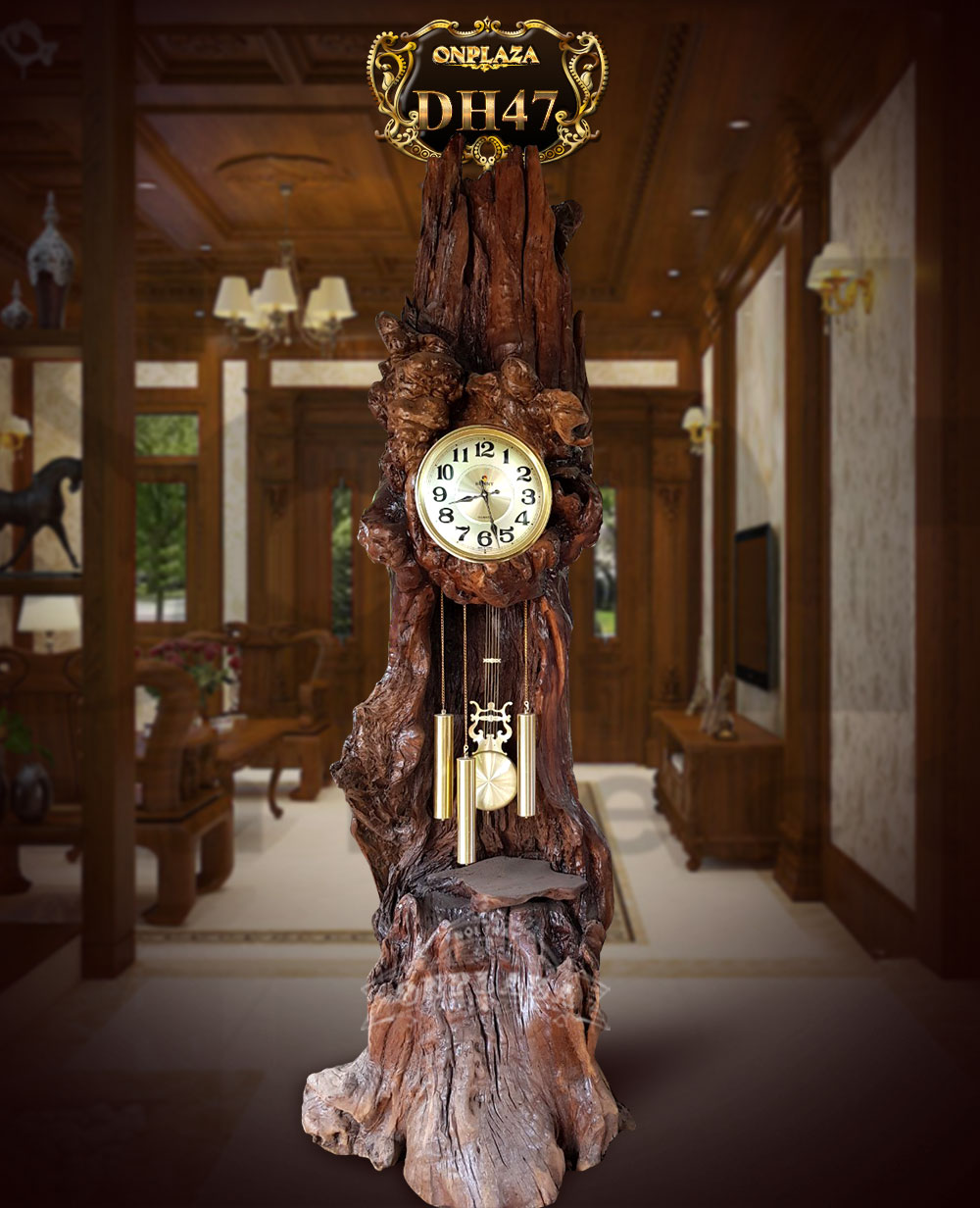 Chia sẻ cách chọn đồng hồ cây đẹp, đồng hồ cây gỗ đứng hợp mệnh gia chủ