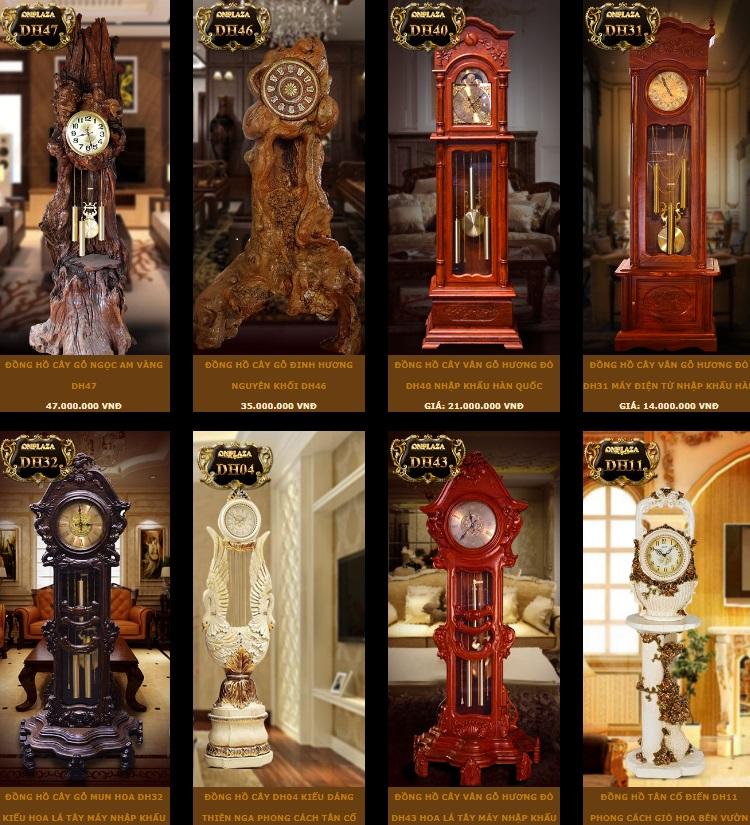 Tham khảo giá của một số sản phẩm đồng hồ cây hàn quốc máy sunny, đồng hồ cây máy kana tại việt nam