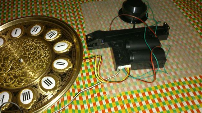 hướng dẫn cách lắp máy điện tử của đồng hồ cây
