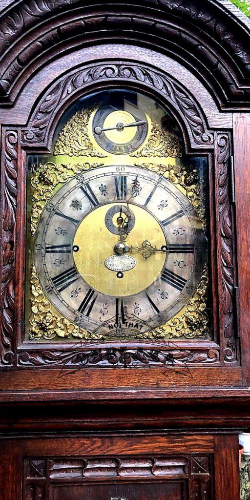 Đồng hồ tủ cây cổ của Anh chế tác thủ công 5