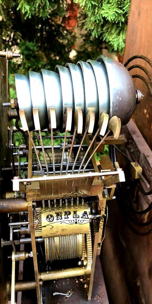 Đồng hồ tủ cây cổ của Anh chế tác thủ công 7