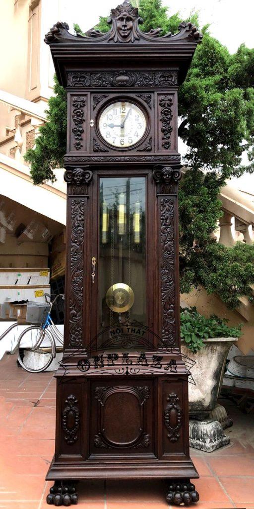 Đồng hồ tủ cây cổ quý của Đức, máy cơ nhập khẩu nguyên chiếc từ Đức