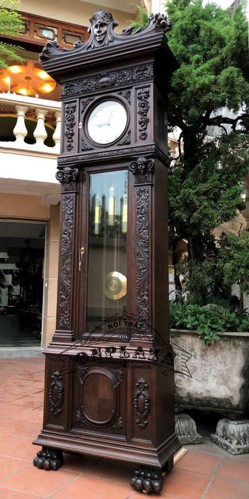 Đồng hồ tủ cây cổ quý của Đức 2