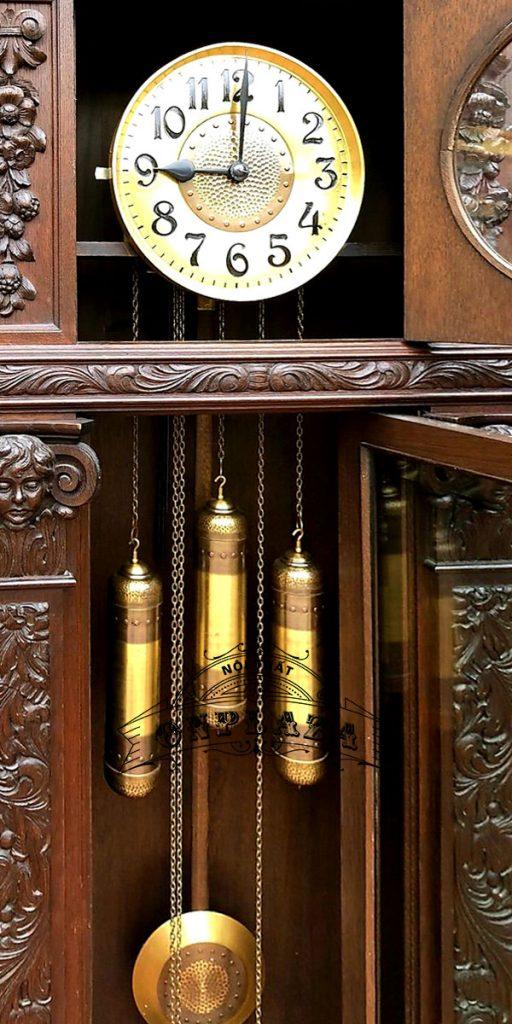 Đồng hồ tủ cây cổ quý của Đức 4