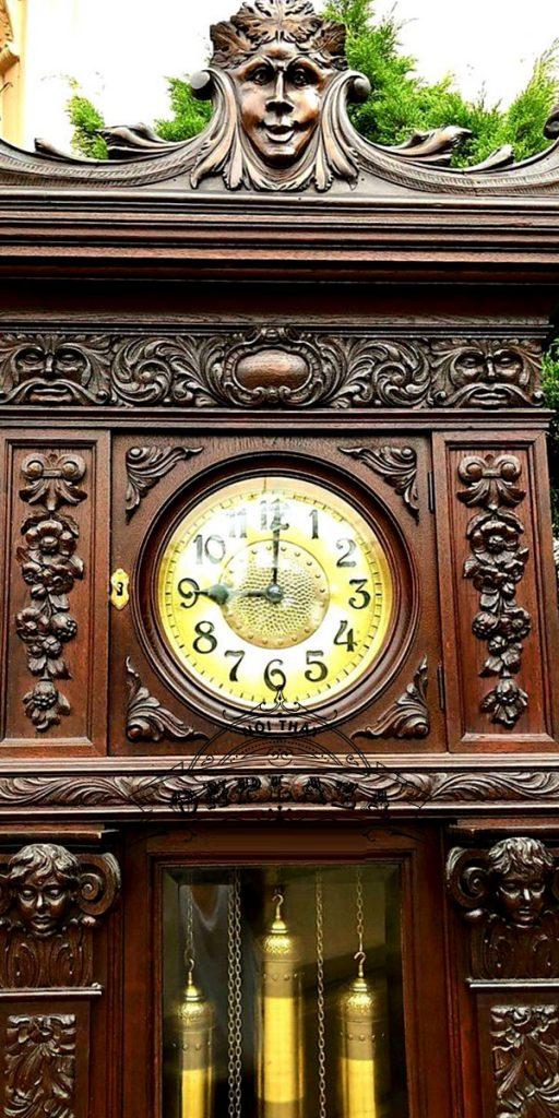 Đồng hồ tủ cây cổ quý của Đức 6