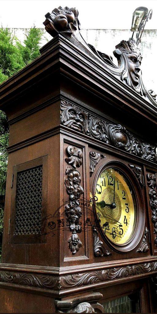 Đồng hồ tủ cây cổ quý của Đức 7