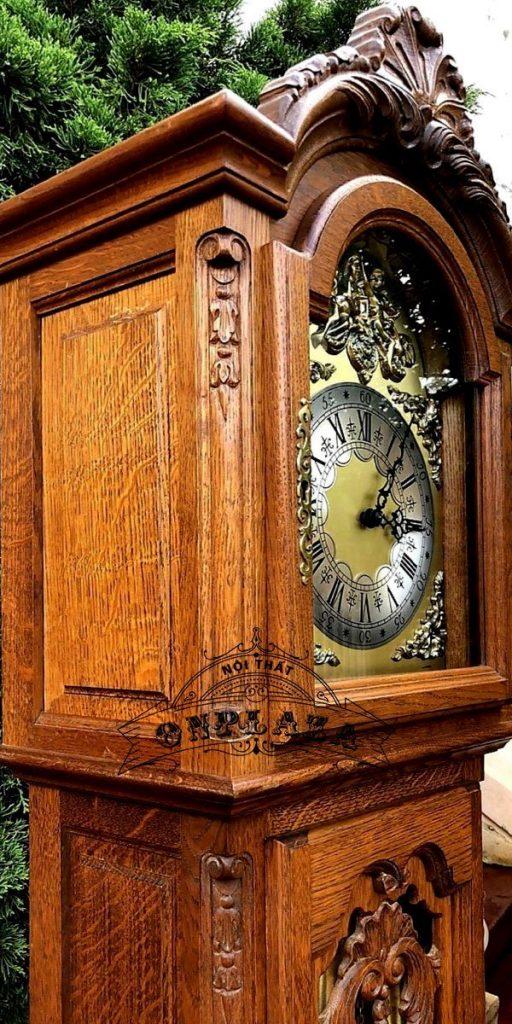 Đồng hồ tủ cây của Đức hàng nội địa đầu thập niên 70 2