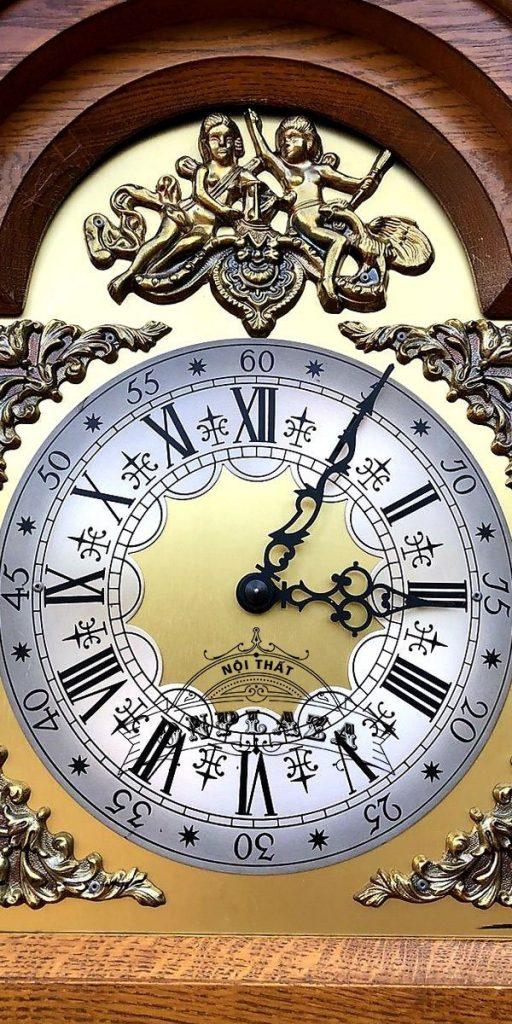 Đồng hồ tủ cây của Đức hàng nội địa đầu thập niên 70 7