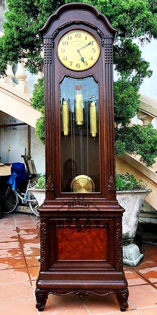 Đồng hồ tủ đầu ông sư cổ thế kỷ XX
