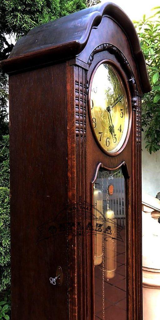 Đồng hồ tủ đầu ông sư cổ thế kỷ XX 3