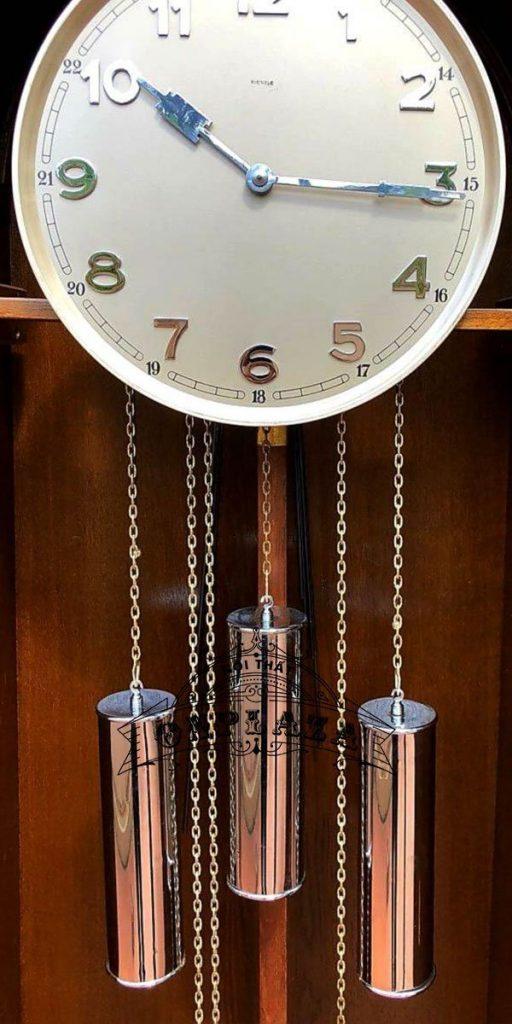 Đồng hồ tủ đầu ông sư máy Kienzle cổ 3