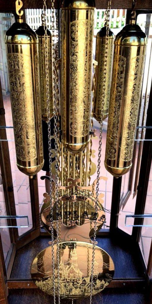 Đồng hồ tủ 3 buồng máy Kieninger sản xuất cuối thập niên 70 6