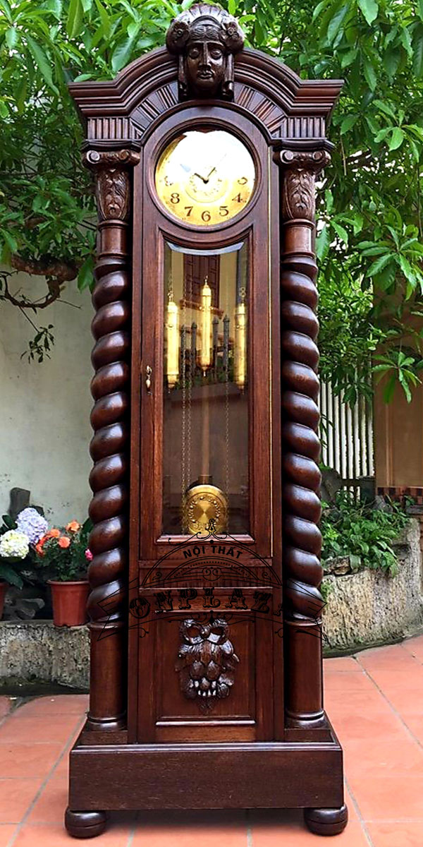 Đồng hồ tủ cây cổ máy Kieninger nhập khẩu Đức