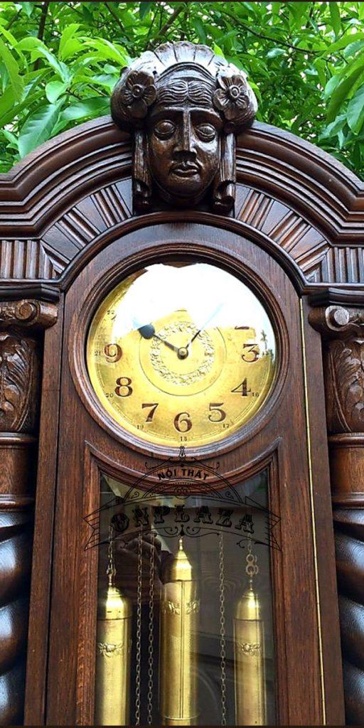 Đồng hồ tủ cây cổ máy Kieninger nhập khẩu Đức 3