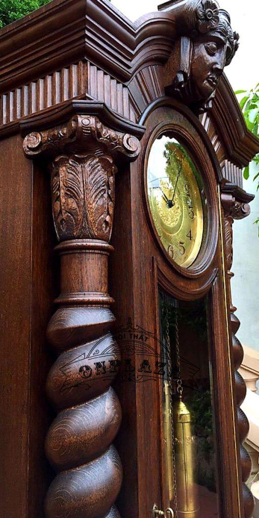 Đồng hồ tủ cây cổ máy Kieninger nhập khẩu Đức 4