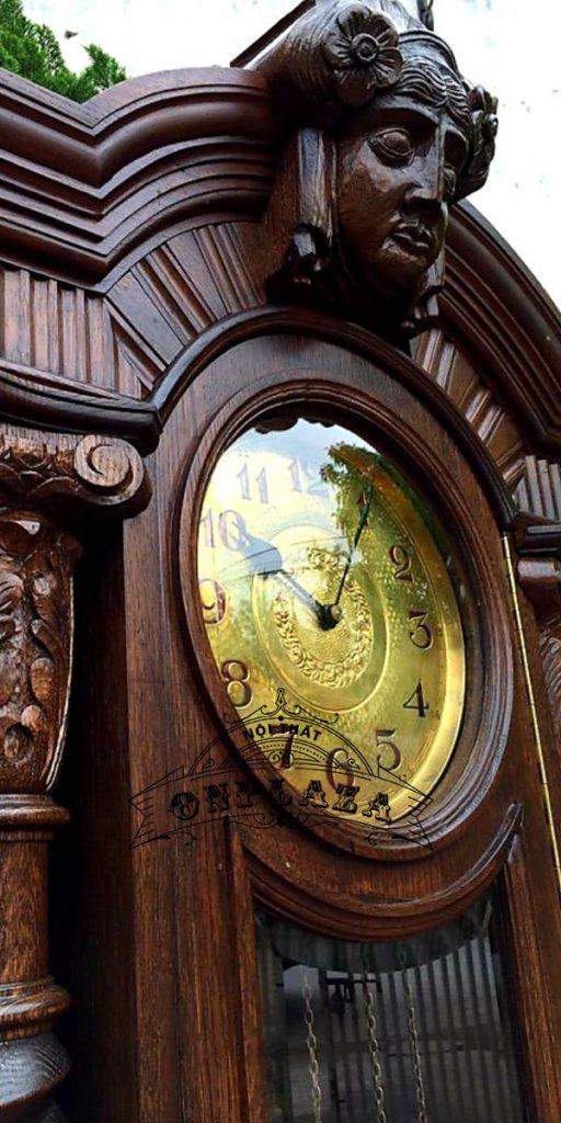 Đồng hồ tủ cây cổ máy Kieninger nhập khẩu Đức 5