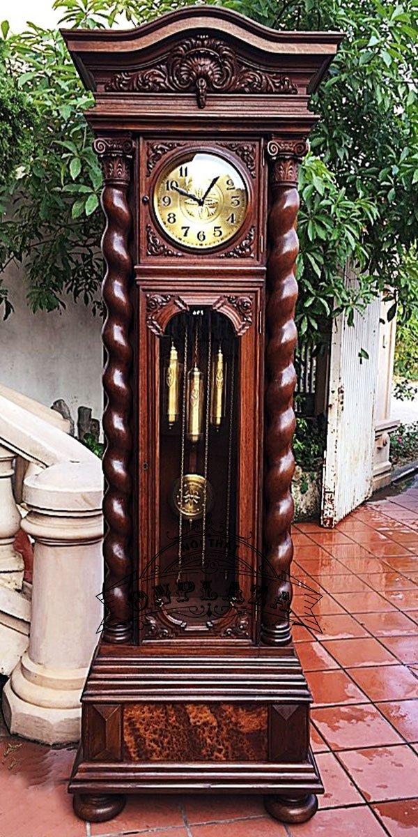 Đồng hồ tủ cây cổ nhập khẩu nguyên chiếc Đức chế tác thủ công