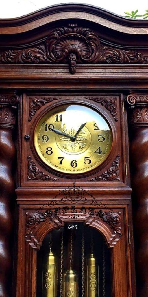 Đồng hồ tủ cây cổ nhập khẩu nguyên chiếc Đức chế tác thủ công 3