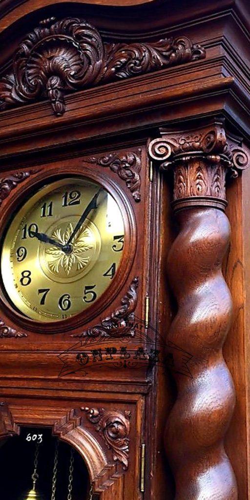Đồng hồ tủ cây cổ nhập khẩu nguyên chiếc Đức chế tác thủ công 8