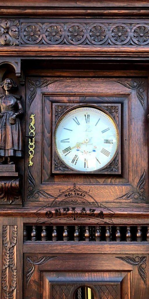 Đồng hồ tủ cây cổ thương hiệu odo, nhập khẩu nguyên chiếc từ Pháp 1