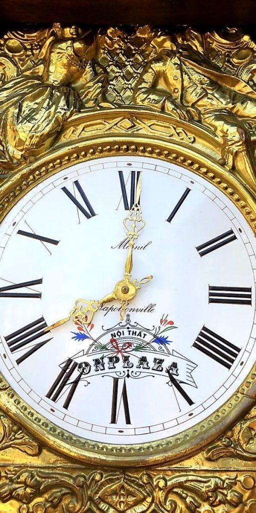 Đồng hồ tủ cây cổ thương hiệu odo, nhập khẩu nguyên chiếc từ Pháp 4