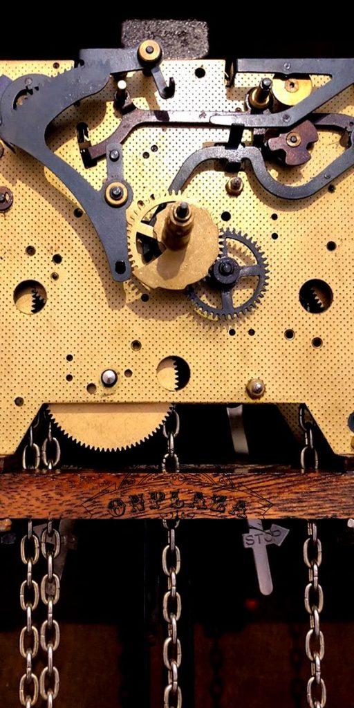 Đồng hồ tủ cây cổ thương hiệu odo, nhập khẩu nguyên chiếc từ Pháp 6
