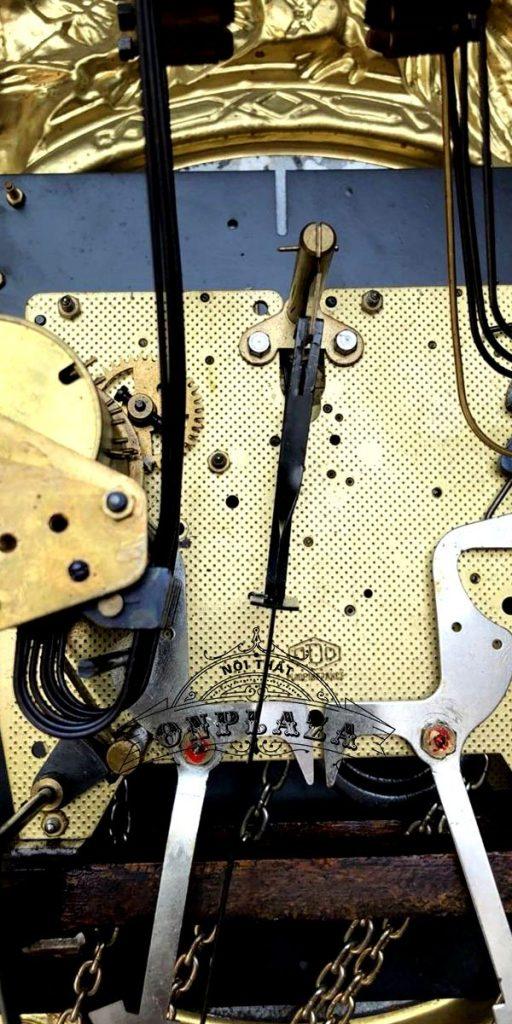 Đồng hồ tủ cây cổ thương hiệu odo, nhập khẩu nguyên chiếc từ Pháp 7