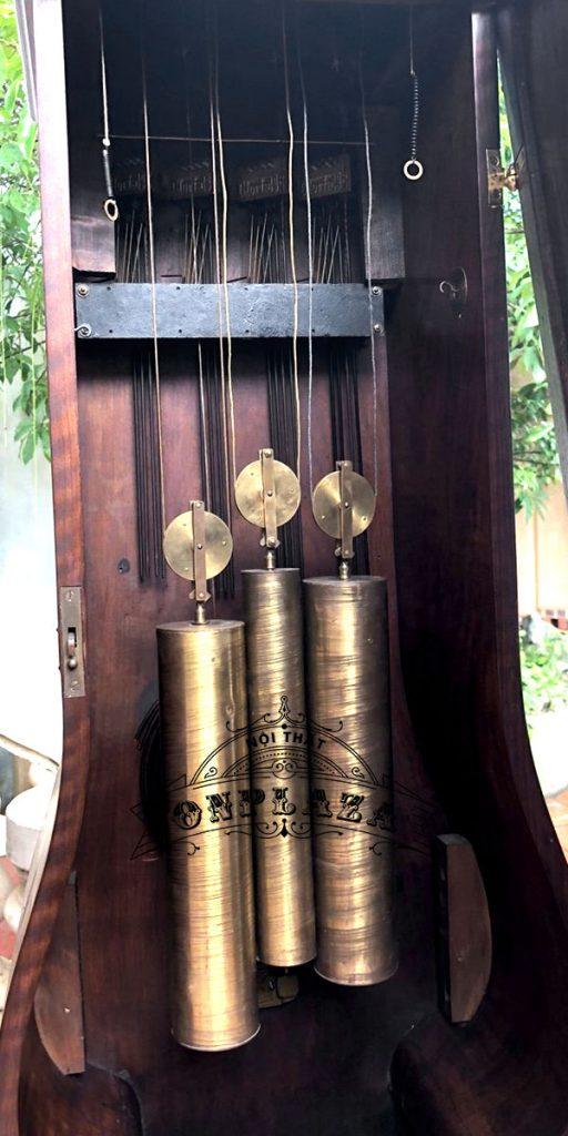 Đồng hồ tủ cây junghans16 gông độc chiếc kiểu cây đàn 5