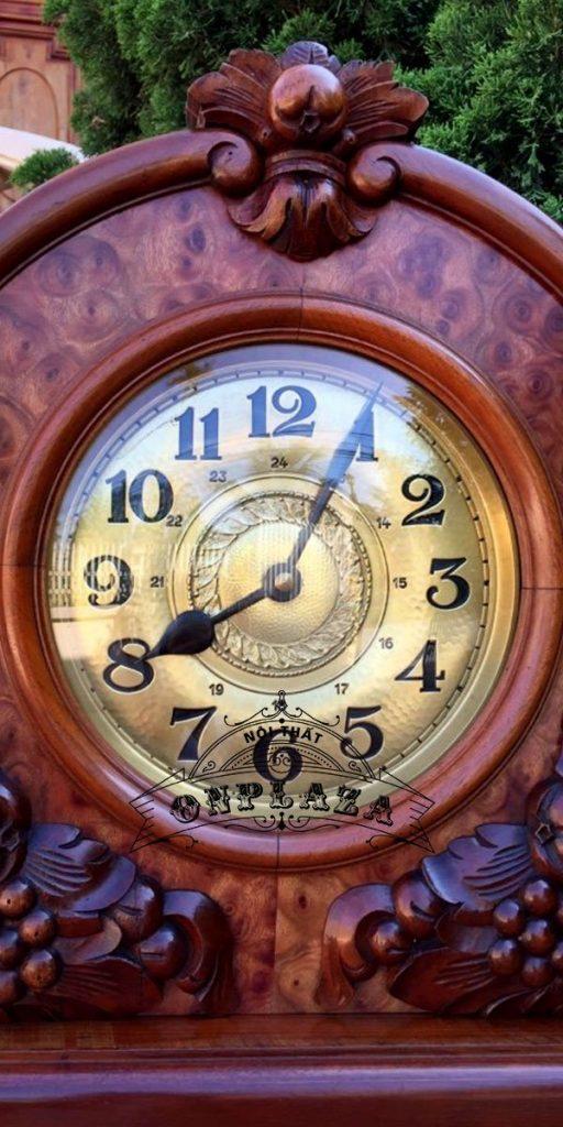 Đồng hồ tủ đầu ông sư cổ Đức loại tủ to 4