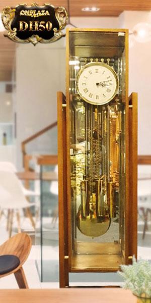 Đồng hồ tủ sáo DH50 9 ống chơi 3 bản melody hiệu hermle