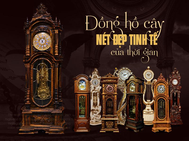 Đồng hồ cây nét đẹp tin tế của thời gian